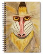 Mandrill Monkey Spiral Notebook