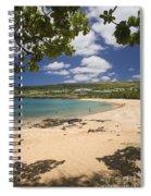 Manele Bay Spiral Notebook
