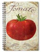 Mangia Tomato Spiral Notebook