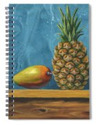 Mango And Pineapple Spiral Notebook