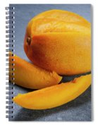 Mango And Slices Spiral Notebook