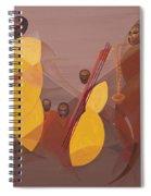 Mango Jazz Spiral Notebook