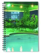 Mango Park Hotel Roof Top Pool Spiral Notebook