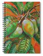 Mango Spiral Notebook