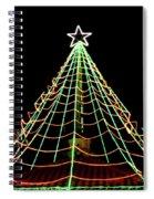 Manhattan Beach Christmas Spiral Notebook