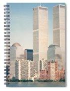 Manhattan Circa 1990 Spiral Notebook