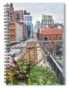 Manhattan High Line Spiral Notebook