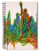 Manhattan Lady Spiral Notebook