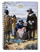 Manhattan Purchase, 1626 Spiral Notebook