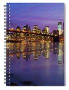 Manhattan Reflection Spiral Notebook