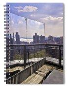 Manhattan Reflections Spiral Notebook