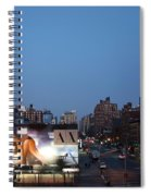 Manhattan View From The High Line Spiral Notebook