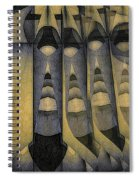 Coming Into Manhood Spiral Notebook