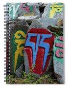 Mani Stones Spiral Notebook