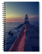 Manitowoc Sunrise Spiral Notebook