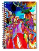 Mankey Painted Reindeer In Italy  Spiral Notebook