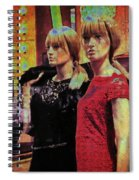10496 Mannequin Series 07 - Let's Party Spiral Notebook