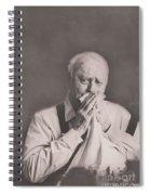 Manner's Never Get Old Spiral Notebook
