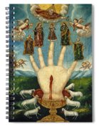 Mano Poderosa. The All-powerful Hand Spiral Notebook