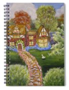 Manor Of Yore Spiral Notebook