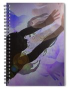 Mans Creation Spiral Notebook