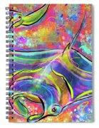 Mantas Spiral Notebook