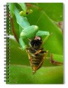 Mantis Munchies Spiral Notebook