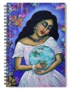 Mantras Spiral Notebook