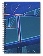 Manufacturing Abstract Spiral Notebook