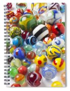 Many Beautiful Marbles Spiral Notebook