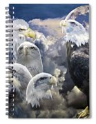 Many Faces  Spiral Notebook