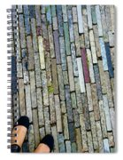 Many Layered Path Spiral Notebook