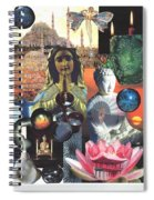 Many Paths Spiral Notebook