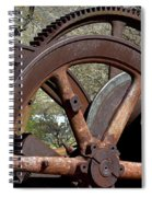 Many Wheels Spiral Notebook