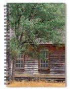 Manzana Schoolhouse - 1895 Spiral Notebook