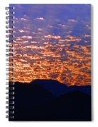 Manzanillo Sunset 3 Spiral Notebook