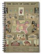 Map: Confederate States Spiral Notebook
