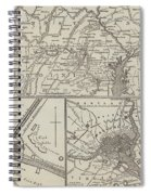 Map Illustrating General Lee's Advance Into Pennsylvania  Spiral Notebook