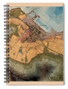 Map Of Cape Town 1947 Spiral Notebook