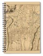 Map Of Cork 1771 Spiral Notebook