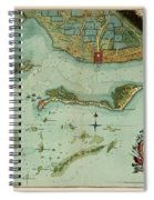 Map Of Jamaica 1756 Spiral Notebook