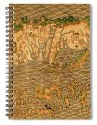 Map Of Taiwan 1700 Spiral Notebook