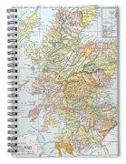 Map: Scotland Spiral Notebook