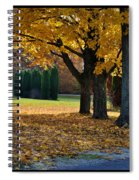 Maple And Arborvitae Spiral Notebook
