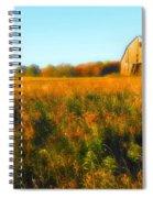 Maple Ridge Fall Barn Spiral Notebook