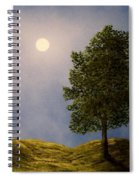 Maples In Moonlight Spiral Notebook