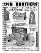 Mappin Brothers Ad, 1895 Spiral Notebook