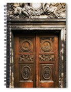 Marais Doorway Spiral Notebook
