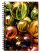 Marble Madness Spiral Notebook