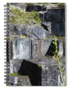 Marble Quarry  Spiral Notebook